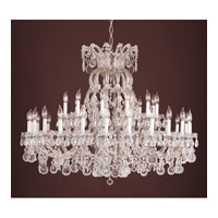 Crystorama Signature 37 Light Chandelier in Silver 4308-SAQ-SILVER