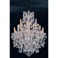 Crystorama Maria Theresa 18 Light Chandelier in Polished Chrome 4420-CH-CL-MWP