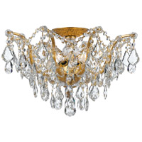 Crystorama 4457-GA-CL-MWP Filmore 5 Light 19 inch Antique Gold Semi Flush Mount Ceiling Light in Antique Gold (GA), Clear Hand Cut alternative photo thumbnail