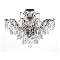Crystorama 4459-VZ-CL-S_CEILING Filmore 6 Light 27 inch Vibrant Bronze Semi Flush Mount Ceiling Light in Vibrant Bronze (VZ), Clear Swarovski Strass