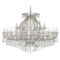 Crystorama Maria Theresa 47 Light Chandelier in Polished Chrome with Swarovski Elements Crystals 4480-CH-CL-S