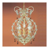 Crystorama Paris Flea Market Chandelier in Champagne 4513-CM