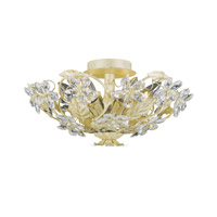 Crystorama Paris Flea Market 6 Light Semi-Flush Mount in Champagne 4600-CM