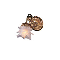 Crystorama Signature 1 Light Wall Sconce in Olde Brass 461-OB-L