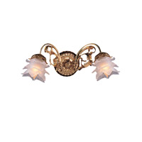 Crystorama Cecile 2 Light Wall Sconce in Olde Brass 462-OB-L