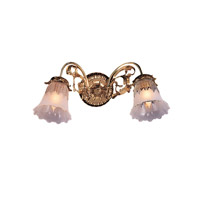 Crystorama Cecile 2 Light Wall Sconce in Olde Brass 462-OB-T