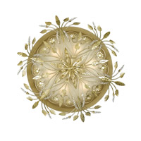 Crystorama 4704-GL Primrose 6 Light 20 inch Gold Leaf Semi Flush Mount Ceiling Light in Gold Leaf (GL)  alternative photo thumbnail