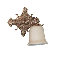 Signature 1 Light 10 inch Olde Brass Wall Sconce Wall Light