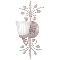Crystorama Primrose 1 Light Bath Light in Blush with Swarovski Spectra Crystals 4741-BH
