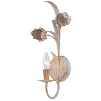 Crystorama 4811-AW Southport 1 Light 8 inch Antique White Wall Sconce Wall Light