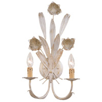 Southport 2 Light 11 inch Antique White Wall Sconce Wall Light