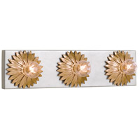 Crystorama 503-GA-SA Broche 3 Light 18 inch Antique Gold Bathroom Vanity Wall Light alternative photo thumbnail