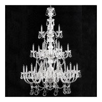 Crystorama Traditional Crystal 21 Light Chandelier in Polished Chrome 5035-CH-CL-MWP