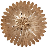 Crystorama Broche 4 Light Wall Sconce in Antique Gold 505-GA_WALL
