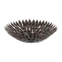 Crystorama Broche 6 Light Flush Mount in English Bronze 507-EB_CEILING