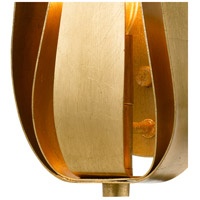 Crystorama 511-GA Broche 1 Light 8 inch Antique Gold Wall Sconce Wall Light in Antique Gold (GA) alternative photo thumbnail