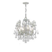 Crystorama 5115-OS-CL-S Regis 6 Light 20 inch Olde Silver Semi Flush Mount Ceiling Light in Olde Silver (OS), Clear Swarovski Strass alternative photo thumbnail