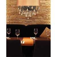 Crystorama Brentwood 6 Light Chandelier in English Bronze 5155-EB-SHG-GTM photo thumbnail