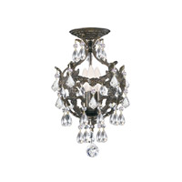 Crystorama Legacy 3 Light Mini Chandelier in English Bronze 5193-EB-CL-MWP alternative photo thumbnail