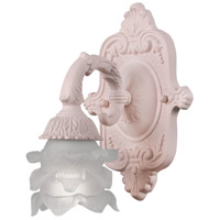 Crystorama Paris Flea Market 1 Light Wall Sconce in Blush 5221-BH