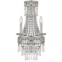 Crystorama Mercer 2 Light Wall Sconce in Olde Silver 5262-OS-CL-MWP