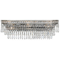 Crystorama Mercer 6 Light Bathroom-Vanity Light in Olde Silver 5265-OS-CL-MWP
