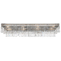 Mercer 8 Light 32 inch Olde Silver Vanity Light Wall Light in Olde Silver (OS)