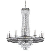 Crystorama Mercer 16 Light Chandelier in English Bronze with Hand Cut Crystals 5269-EB-CL-MWP