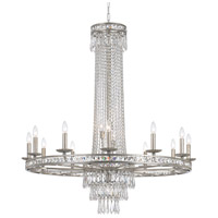 Crystorama Mercer Chandelier in Olde Silver with Hand Cut Crystals 5269-OS-CL-MWP
