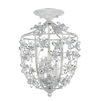 Crystorama Abbie 3 Light Flush Mount in Antique White 5303-AW_CEILING