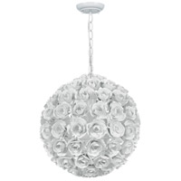 Crystorama 537-WW Cypress 1 Light 14 inch Wet White Mini Chandelier Ceiling Light alternative photo thumbnail