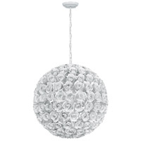 Crystorama 539-WW Cypress 5 Light 20 inch Wet White Chandelier Ceiling Light alternative photo thumbnail