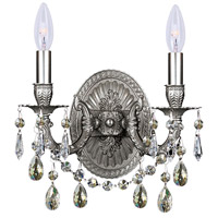 Signature 2 Light 11 inch Pewter Wall Sconce Wall Light