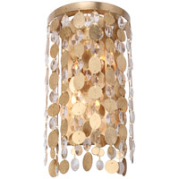 Crystorama Bella 2 Light Wall Sconce in Antique Gold 561-GA