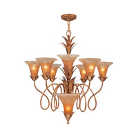 Crystorama European Classic 7 Light Chandelier in Gold Leaf 5676-GL photo thumbnail