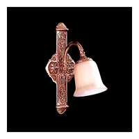 Crystorama Historical Brass 1 Light Wall Sconce in Antique Brass 571-AB