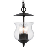 Crystorama Ascott 3 Light Foyer Lantern in English Bronze 5717-EB