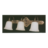 Crystorama Lighting Hot Deal 3 Light Wall Sconce in Antique Brass 573-AB