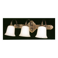 Crystorama Lighting Hot Deal 3 Light Wall Sconce in Olde Brass 573-OB