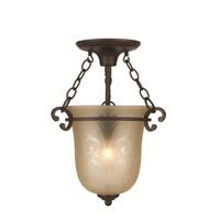 Crystorama Camden 1 Light Pendant in Bronze Umber 5760-BU alternative photo thumbnail
