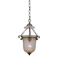 Crystorama Camden 1 Light Pendant in Bronze Umber 5761-BU