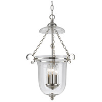 Signature 3 Light 13 inch Polished Nickel Pendant Ceiling Light
