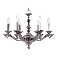 Signature 60 Light 24 inch Pewter Chandelier Ceiling Light