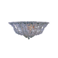 Crystorama Lighting Kingston 2 Light Wall Sconce in Olde Silver & Hand Cut Crystal Beads 5921-OS photo thumbnail