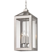 Crystorama 6053-PN Hurley 4 Light 10 inch Polished Nickel Chandelier Ceiling Light