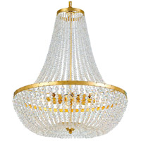 Crystorama 609-GA Rylee 8 Light 24 inch Antique Gold Chandelier Ceiling Light