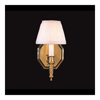 Hot Deal 1 Light 5 inch Polished Brass Wall Sconce Wall Light