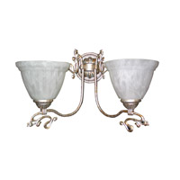 Signature 2 Light 17 inch Antique Silver Wall Sconce Wall Light in Antique Silver (SA)