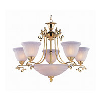 Crystorama Lighting Charleston 5 Light Chandelier in Gold 6208-GD photo thumbnail