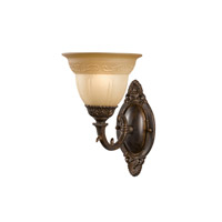 Crystorama Oxford 1 Light Wall Sconce in Venetian Bronze 6301-A-VB